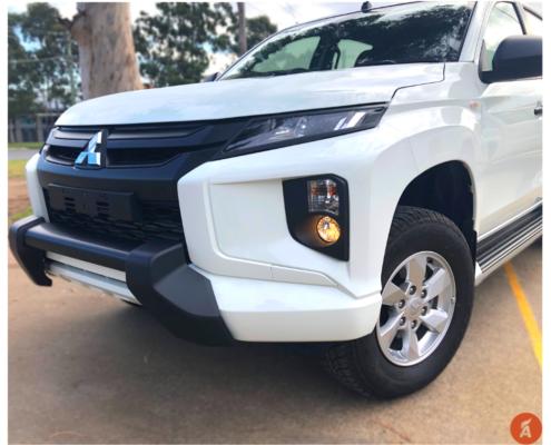 Mitsubishi Triton MR Headlight Trims 2019-On