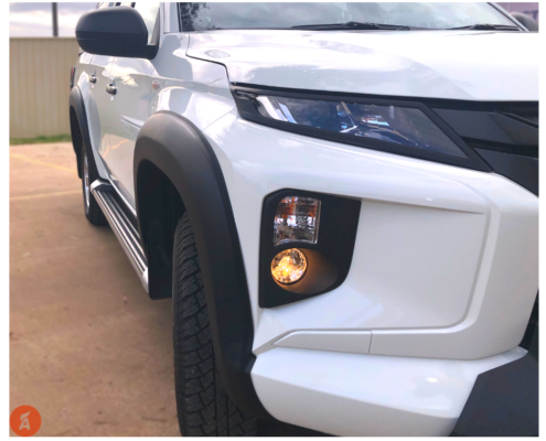 BUNDLE & SAVE Mitsubishi Triton MR Wheel Arch Flare (OEM Style) Set, Headlight & Taillight Trims 2019-On